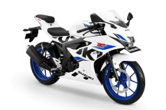 Suzuki GSX-R150 Brilliant White-CW Vigor Blue
